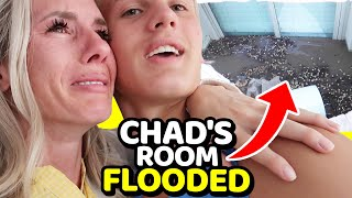 Chad's Room FLOODED