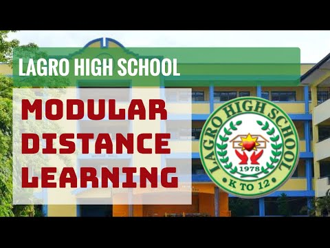Modular Distance Learning: Lagro High School Simulation