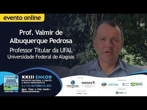 Prof. Valmir de Albuquerque Pedrosa fala sobre a temática de Gestão das Águas Urbanas no XXIII ENCOB