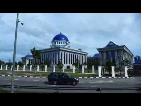 Bandar Seri Begawan, Brunei - Brunei Legislative Council Building HD (2015)