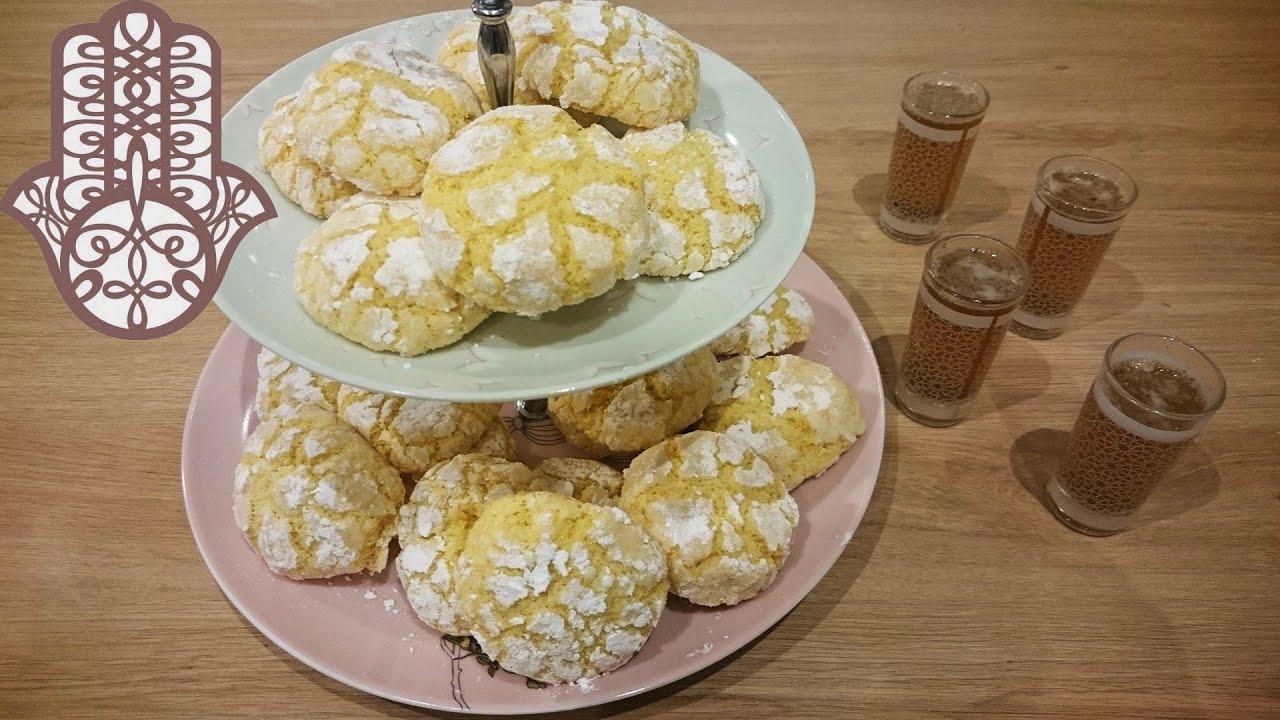 Ghriba la semoule et noix de coco for Cuisine halima filali