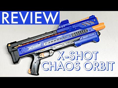 X-Shot Chaos Orbit Review And Firing Demo