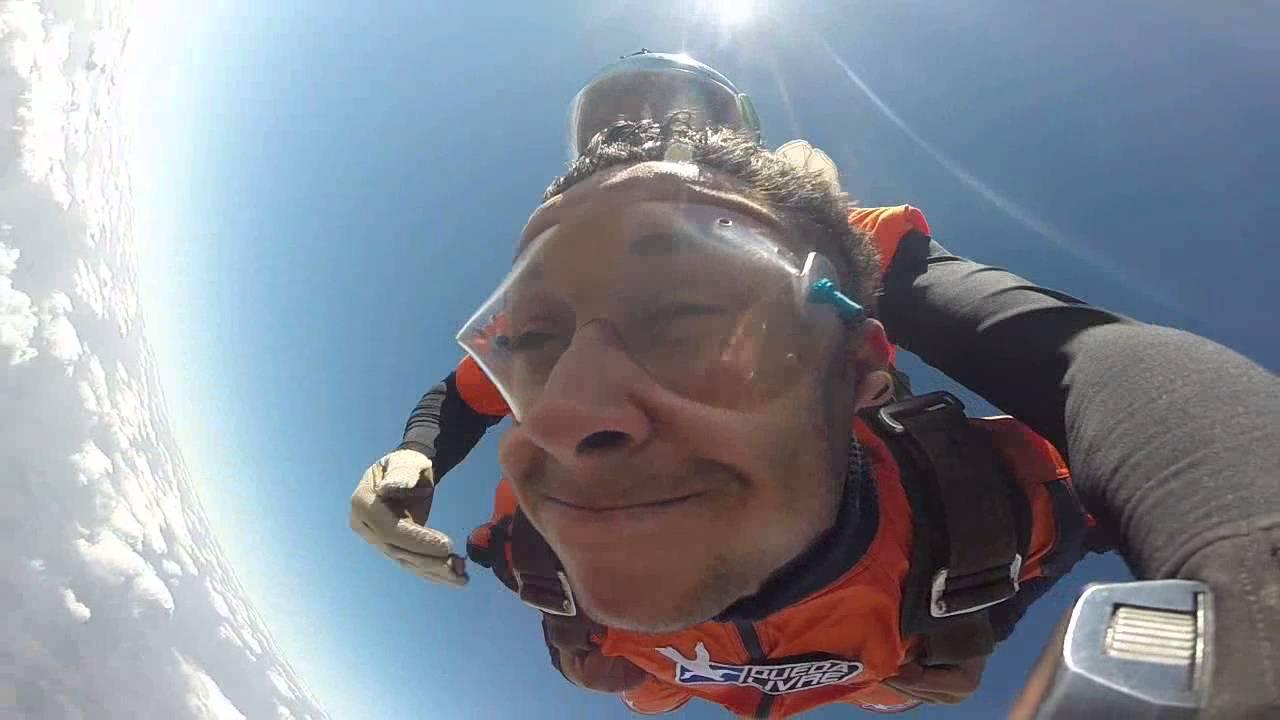 Salto de Paraqueda do Wallace na Queda Livre Paraquedismo 31 07 2016