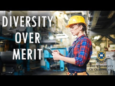 University of Queensland Adopts Diversity Over Merit
