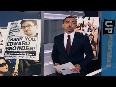 Edward Snowden speaks to Mehdi Hasan - UpFront