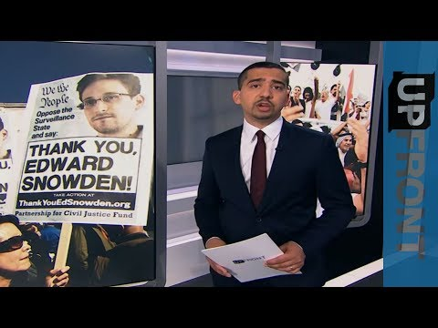 UpFront - Edward Snowden speaks to Mehdi Hasan