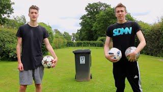 Football bin shots w/ miniminter!