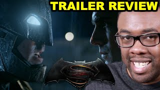 BATMAN v. SUPERMAN Comic-Con Trailer Review : Black Nerd