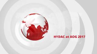 HYDAC at AOG 2017 – Australasian Oil & Gas Exhibition and Conference