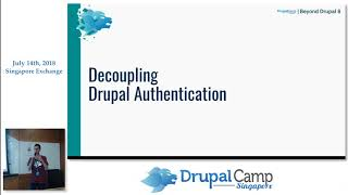 Kong as a gateway for your Drupal API - DrupalCampSG 2018