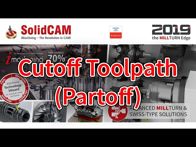 Cutoff Toolpath Partoff