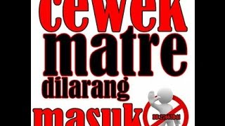 Gambar cover Meonk Band - Cewek Matre - Lirik Video