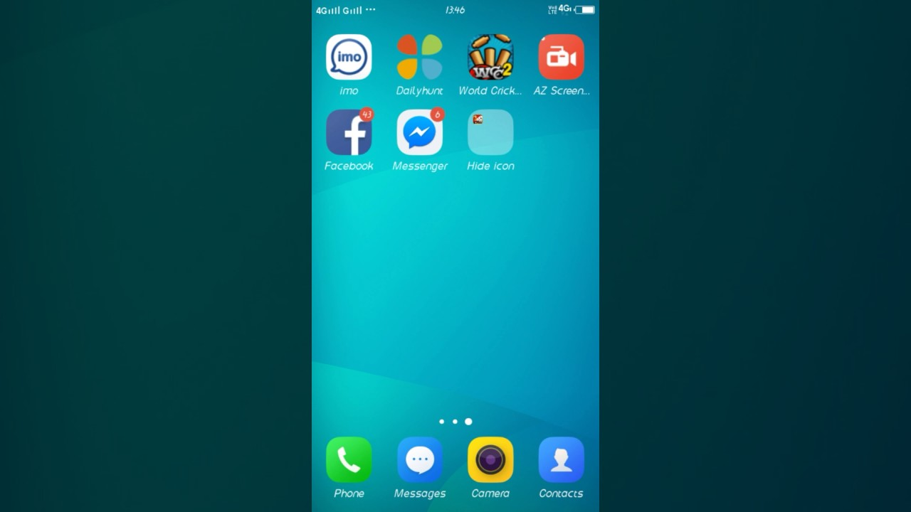 HOW TO HIDE ICON OR APP ON VIVO PHONES