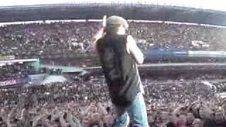 AC/DC - Thunderstruck. Best view LIVE in Gothenburg Sweden 2009 Göteborg. Black ice tour. Intro
