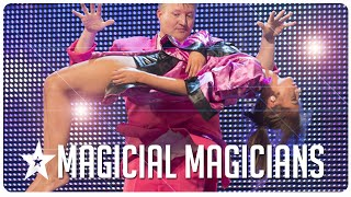 Magical Magicians on Got Talent from around the world