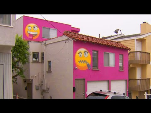 Why This House Is Painted With Emojis
