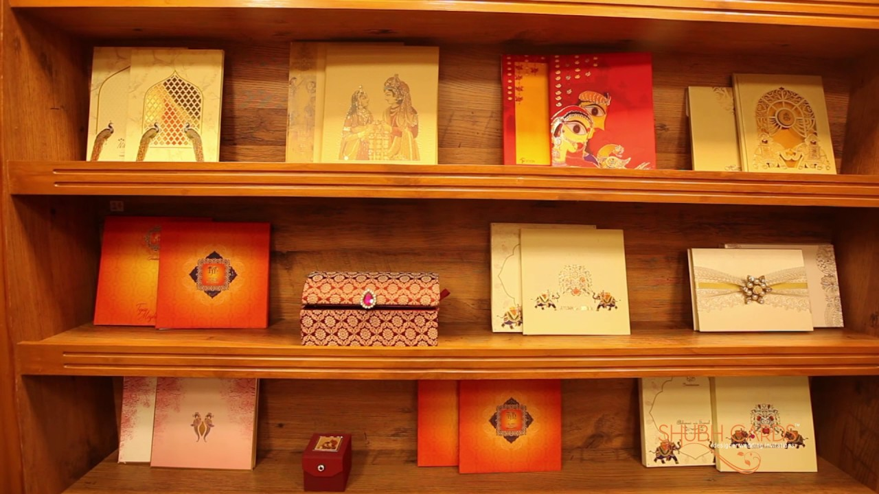 Wedding Cards Showroom in Chennai - A Walk-through video of Shubh ...
