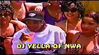 N.W.A Pool Party (1990) Lost Footage pt.4 (DJ Yella of N.W.A)