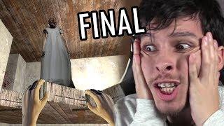 NUEVO FINAL: GRANNY ME EMPUJA AL VACÍO !! ACTUALIZACIÓN ÉPICA - Granny (Horror Game)