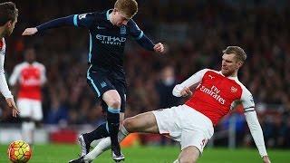 Арсенал 2-1 Ман Сити Обзор матча  Англия  Премьер лига 201516  17 тур