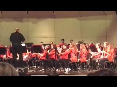 Ancient Moon by Elliot Del Borgo - Thorne Middle School band