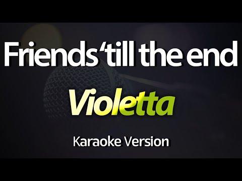 Violetta 3 - Friends 'Till The End (Acústico) (KARAOKE COMPLETO)