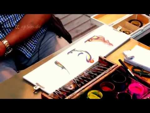 Korean Calligraphy Master in Europe