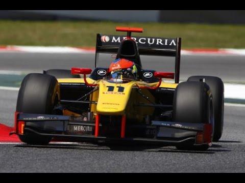 Romain Grosjean Overtakes 3 Cars In 2 Corners, GP2 Barcelona '11