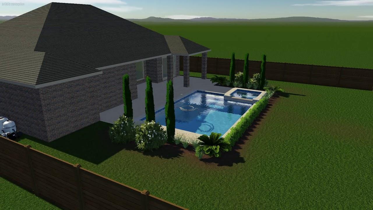 Taylor Online Pool Design Plans For Builders Youtube