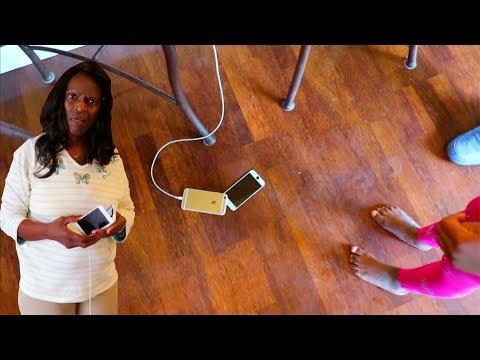 FAKE IPHONE PRANK ON GRANDMA