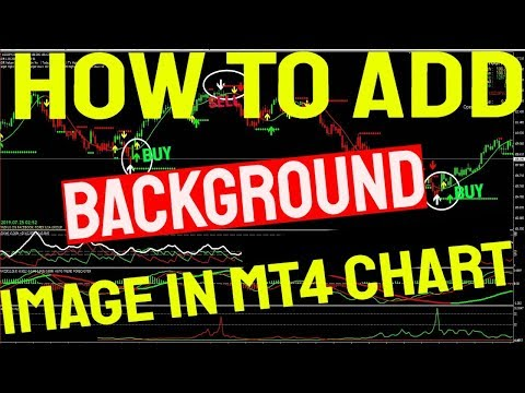 HOW TO ADD BACKGROUND IMAGE IN MT4 CHART - MARKET MAKERS METHOD VS THE TRIPLE ARROW SYSTEM