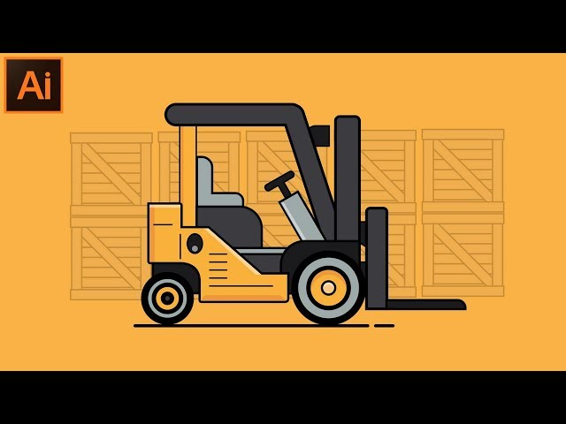 How to Make a Flat Car Illustration Design