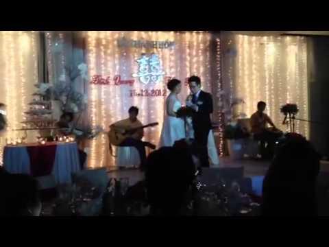 Cảm ơn nhé tình yêu- Chú rể hát tặng cô dâu nhân ngày cưới