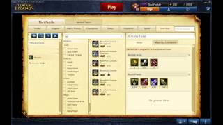 League Of Legends : How To Set Your Own Build In League