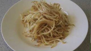 Korean Style Beansprout Salad