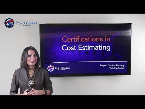 Certifications In Cost Estimating Project Control Academy