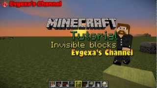 Невидимые блоки [Minecraft Tutorial]