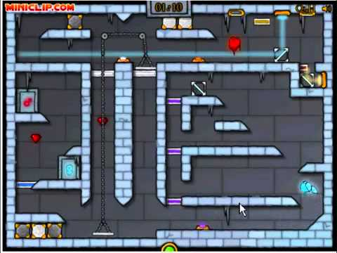 Fireboy and watergirl ice temple walkthrough
