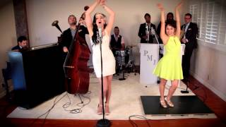 Repeat youtube video Bad Romance - Vintage 1920's Gatsby Style Lady Gaga Cover ft. Ariana Savalas & Sarah Reich