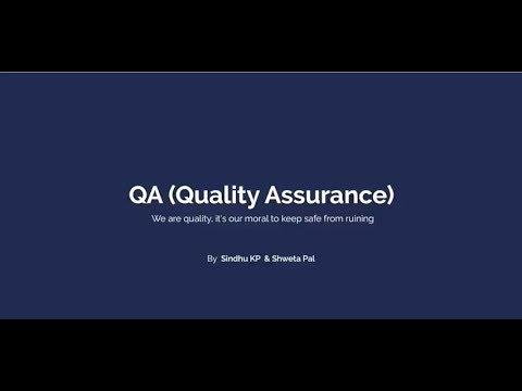 GeekyAnt's Tech Talk on Quality Assurance