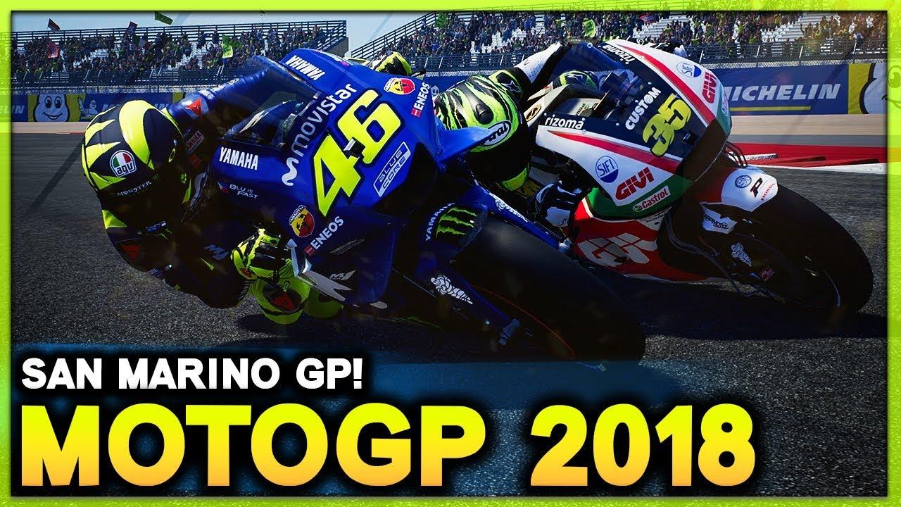 MotoGP San Marino 2018   Race as Rossi at Home GP! (MotoGP 2018 Game)