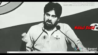 A Tribute for Pspk Janasena with theme song by Nikhil Dhfd