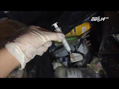 (VTC14)_Hà Nội: Xử lý các bệnh viện, phòng khám vi phạm việc quản lý rác thải y tế