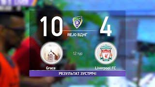 Обзор матча Grace 10 4 Liverpool FC Турнир по мини футболу в городе Киев