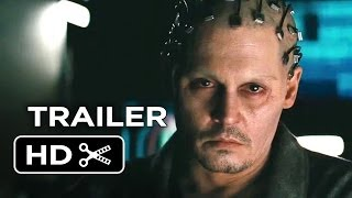 Transcendence Official Trailer 1 2014 - Johnny Depp Sci-Fi Movie HD