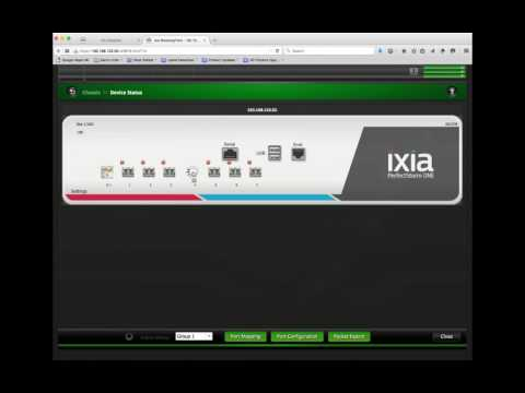 Tutorial 2 Reserving Ports on Ixia BreakingPoint