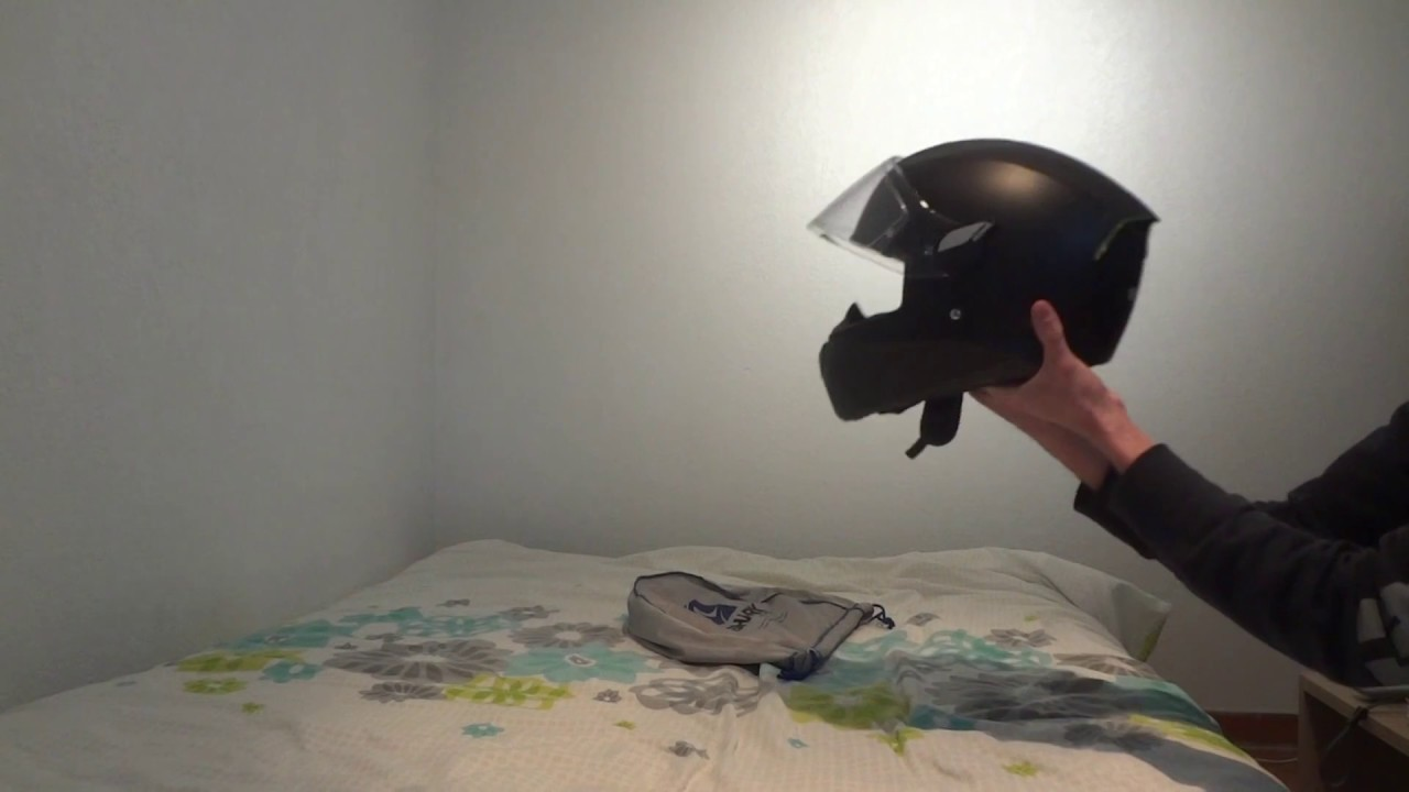 Nouveau Casque Shark Skwal Blank Mat Youtube