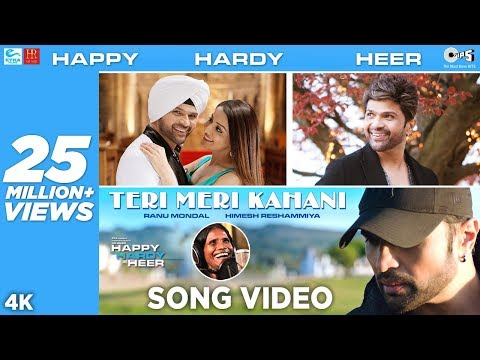 Teri Meri Kahani OFFICIAL Song - Happy Hardy And Heer | Himesh Reshammiya & Ranu Mondal | Sonia Mann