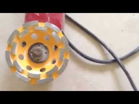 how to make your own thinset motar glue removal blade attachment for hammer drill