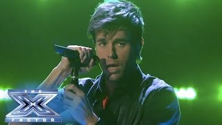 "Download Enrique Iglesias Stops The Show With ""Heart Attack"" - THE X FACTOR USA 2013"